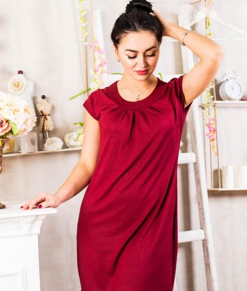 Платье Д404 (рубин)