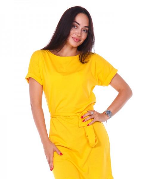 Платье Д525 (желтое)