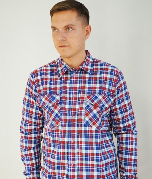 Рубашка К2 (красно-синяя клетка)